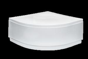 Brodzik półokrągły Besco Diper I 80 biały 80x80x24 BAD-80-NK