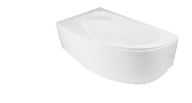 Obudowa do wanny Besco Panel Cornea COMFORT 150 P 150x100 Biała OAC-150-NP