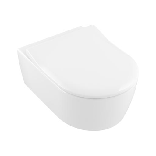 Miska WC wisząca + deska Villeroy Boch Avento DirectFlush 5656RS01 + uszczelka wygłuszająca GRATIS