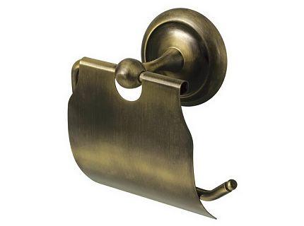 Uchwyt na papier WC z klapką Bisk Deco 00403