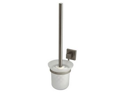 Szczotka WC z uchwytem Bisk Side Brushed 00584