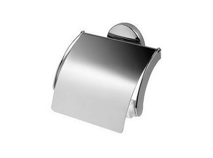 Uchwyt na papier WC z klapką Bisk Chroma 01425