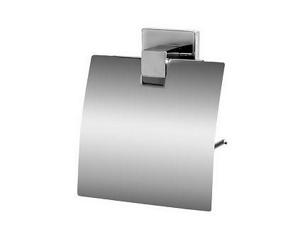 Zdjęcie Uchwyt na papier WC z klapką Bisk Arktic 01473