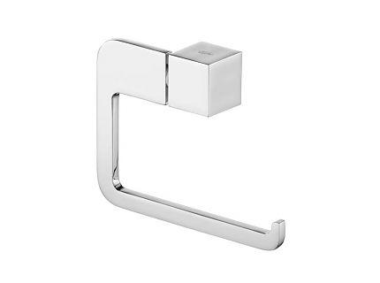 Uchwyt WC prosty Bisk Futura Silver 02990