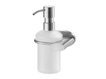 Zdjęcie Dozownik mydła z uchwytem Bisk Side Brushed 03120