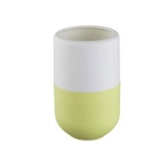 Kubek kosmetyczny Bisk Duet zielony 06329