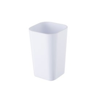 Kubek kosmetyczny Bisk Simple biały 06347
