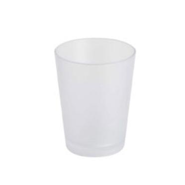 Kubek kosmetyczny Bisk Frost biały 06373
