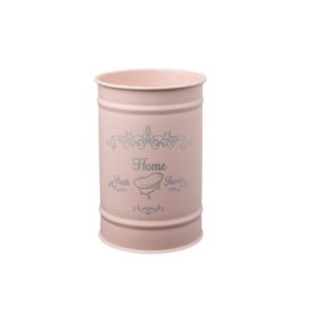 Kubek kosmetyczny Bisk Nicea róż pastel 06754