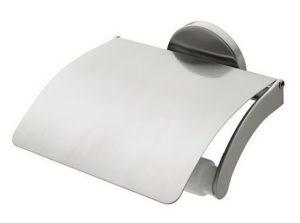 Uchwyt na papier WC z klapką Bisk Virginia 72079
