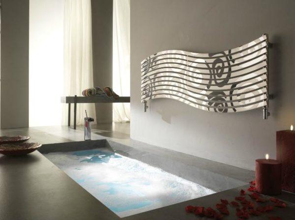 Zdjęcie Grzejnik łazienkowy Cordivari Lola Decor Inox pol/sat poziomy
