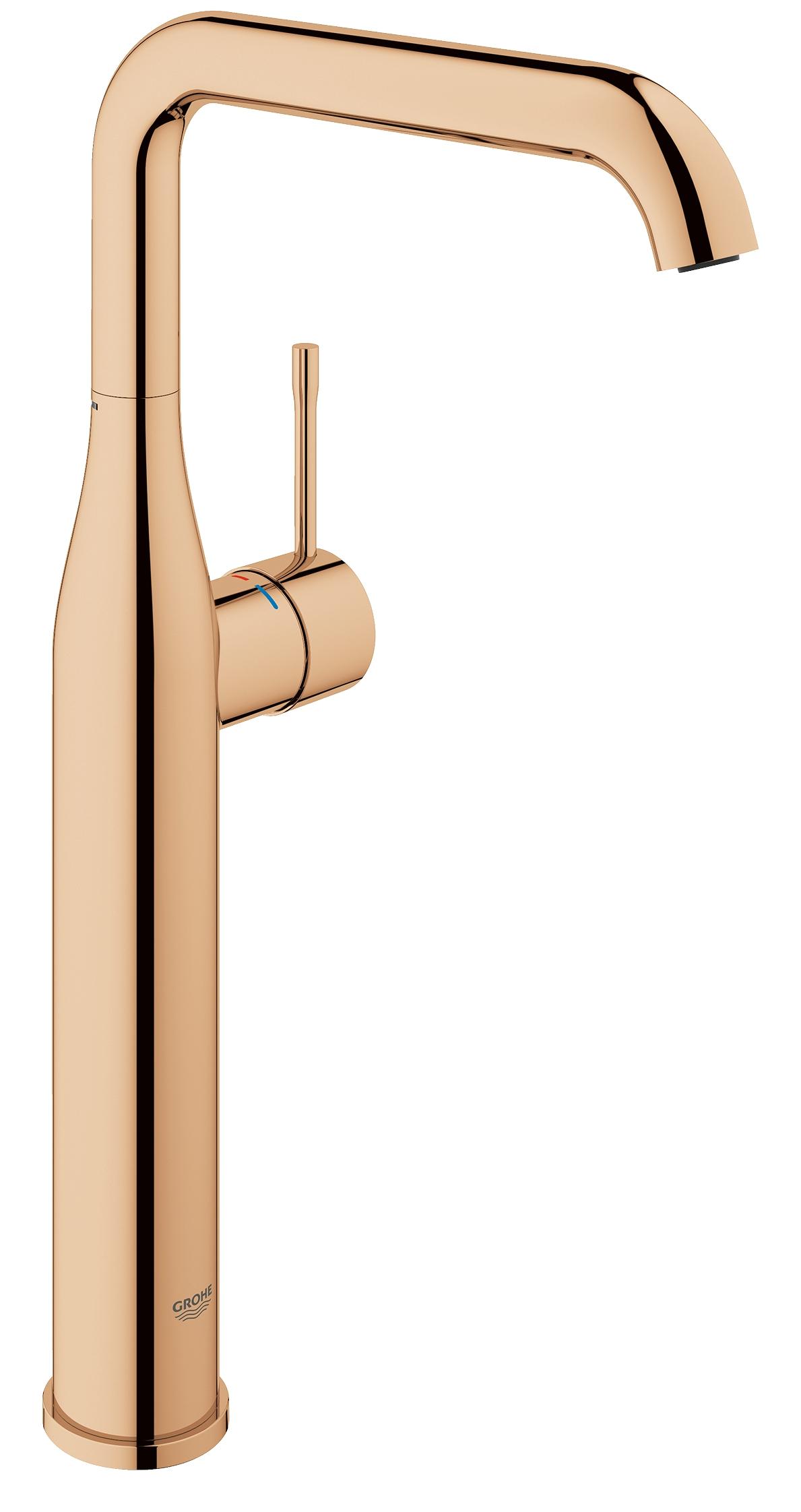 GROHE Essence New - jednouchwytowa bateria umywalkowa do umywalek wolnostojących Warm Sunset Kolor 32901DA1 .