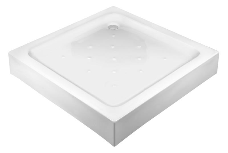 Zdjęcie Brodzik kwadratowy Deante Corner ze zintegrowaną obudową 90×90 KTC041B