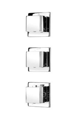 Bateria podtynkowa termostatyczna Deante Multi-System kwadratowa NAC09AT