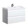 Zdjęcie Szafka pod umywalkę Defra Como 80cm biała 123-D-08001