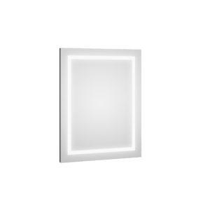 Lustro Defra DOT LED L60/80 Grafit Połysk 60×80×2,9 cm 217-L-06004