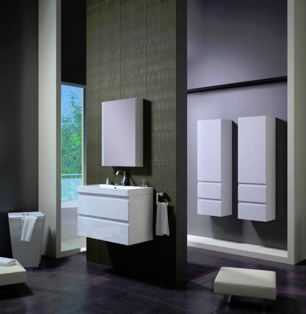 Zdjęcie Szafka pod umywalkę Defra Como 80cm biała 124-D-08001