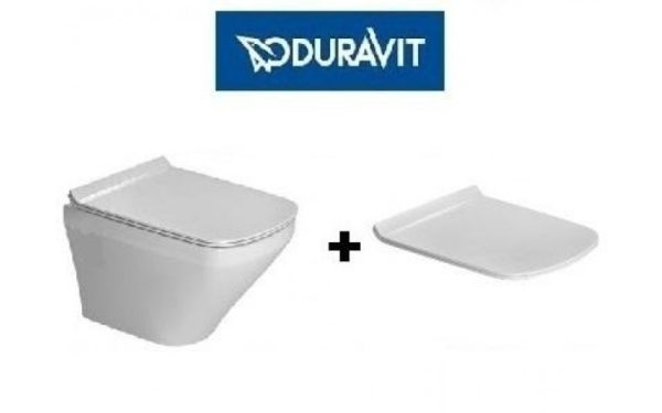 Zdjęcie Miska WC wisząca z deską wolnoopadającą Duravit Durastyle 2552090000+0063790000