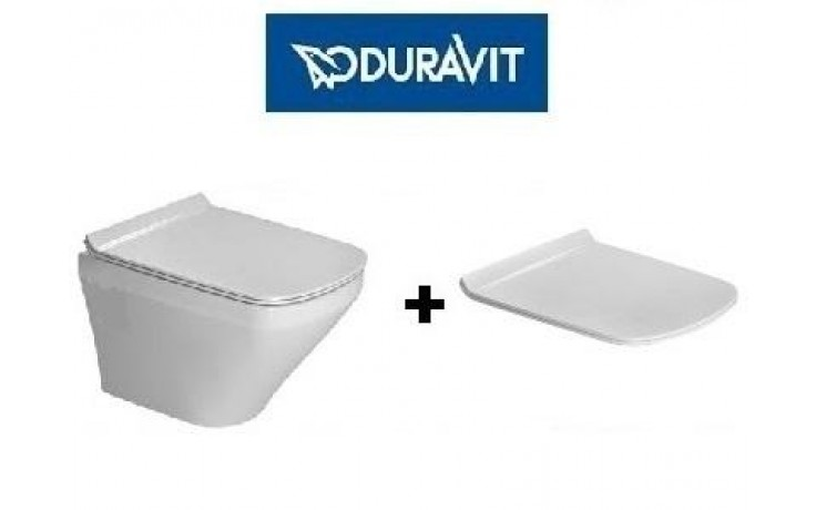 Miska WC wisząca z deską wolnoopadającą Duravit Durastyle 2552090000+0063790000