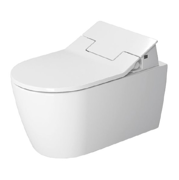 Miska WC wisząca + deska wolnoopadająca Duravit Sensowash Slim 2529590000+ 611000002004300