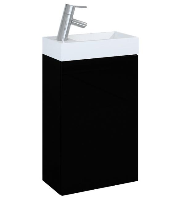 Zestaw szafka pod umywalkę + umywalka Elita Young Basic 40cm 1D 163070 black