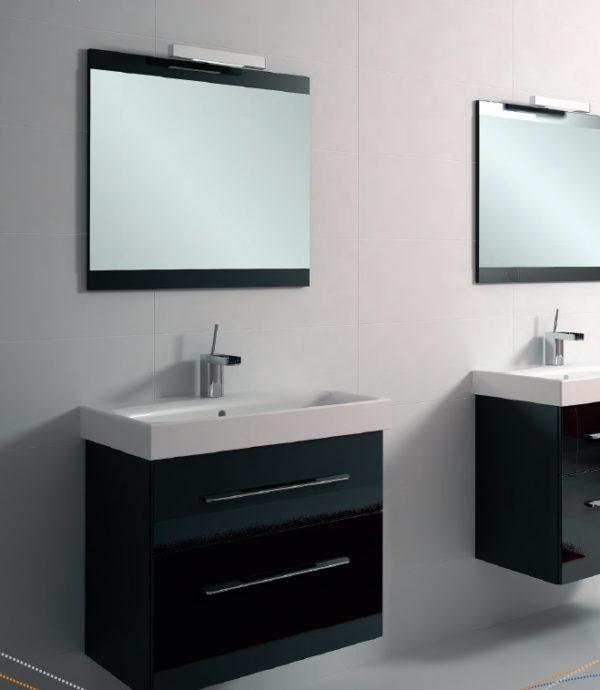Zdjęcie Szafka pod umywalkę Elita Barcelona 60cm czarna 164348