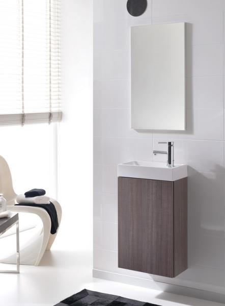 Zdjęcie Zestaw szafka pod umywalkę + umywalka Elita Young Basic 40cm 1D 163070 black