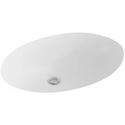 Umywalka podblatowa Villeroy & Boch Evana biała 61,5 x 41,5cm 61440001