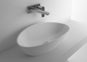 Umywalka nablatowa Marmite Rita Riva UM 0040 600C Biały Połysk 631211061003
