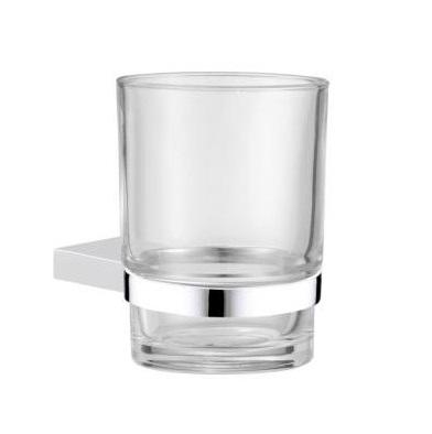Uchwyt ze szklanką szkło bezbarwne Frescor Formo 22.07.00
