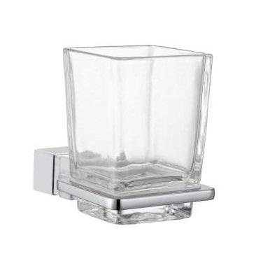 Zdjęcie Uchwyt ze szklanką szkło bezbarwne Frescor Alano 24.07.00