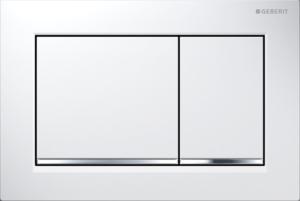 Przycisk Geberit Omega30 biały/chrom błyszczący 115.080.KJ.1