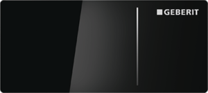 Przycisk uruchamiający zdalny Geberit Omega70 szkło czarne 115.083.SJ.1