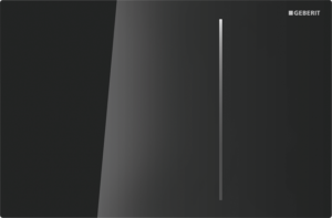 Przycisk uruchamiający przedni Geberit Sigma70 szkło czarne 115.620.SJ.1