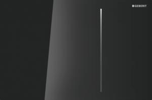 Przycisk uruchamiający przedni Geberit Sigma70 szkło czarne 115.625.SJ.1