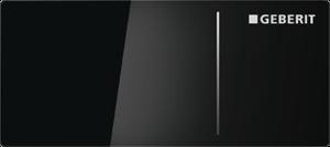 Przycisk uruchamiający Geberit Sigma70 szkło czarne 115.635.SJ.1