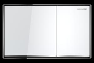 Przycisk uruchamiający Geberit Sigma60 szkło białe 115.640.SI.1