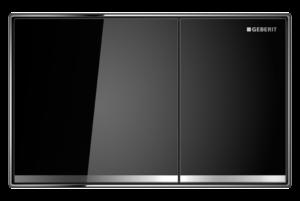 Przycisk uruchamiający Geberit Sigma60 szkło czarne 115.640.SJ.1