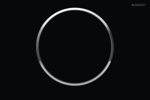 Przycisk uruchamiający Geberit Sigma10 czarny/chrom błyszczący 115.758.KM.5