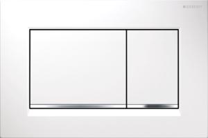 Przycisk spłukujący Geberit Sigma30 biały/chrom błyszczący/biały 115.883.KJ.1