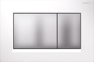 Przycisk spłukujący Geberit Sigma30 biały/chrom matowy 115.883.KL.1