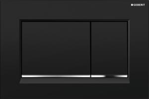 Przycisk spłukujący Geberit Sigma30 czarny/chrom błyszczący/czarny 115.883.KM.1