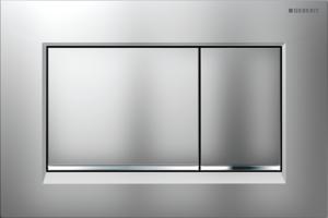 Przycisk spłukujący Geberit Sigma30 chrom matowy/błyszczący/matowy 115.883.KN.1