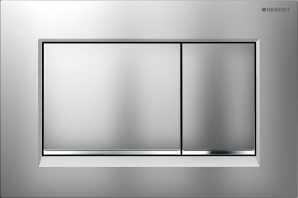 Zdjęcie Przycisk spłukujący Geberit Sigma30 chrom matowy/błyszczący/matowy 115.883.KN.1