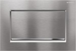 Przycisk spłukujący Geberit Sigma30 chrom szczotkowany/błyszczący/szczotkowany 115.893.KX.1