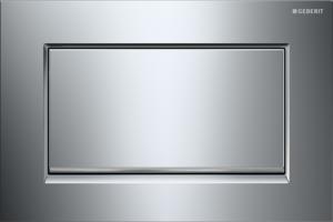 Przycisk spłukujący Geberit Sigma30 chrom błyszczący/szczotkowany/błyszczący 115.893.KY.1