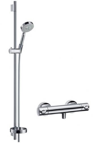 Zestaw prysznicowy Hansgrohe Croma 100 Multi/Ecostat Combi 27085000