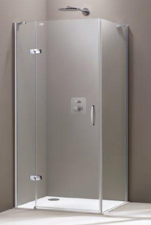 Ścianka boczna Huppe Aura elegance 100cm 400605.087.322 Anti-plaque