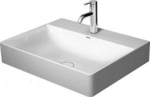 Umywalka nablatowa Duravit DuraSquare 600x470 mm bez przelewu 2353600071