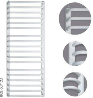 Grzejnik łazienkowy Instal-Projekt Bolero BOL-55/70 biały